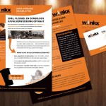 Winkx Flyer + Business Cards 2011